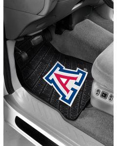 The Northwest Company Arizona College Car Floor Mats (Set of 2) - Arizona College Car Floor Mats (Set of 2)