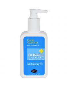 Shikai Products Borage Facial Cleanser - 6 oz