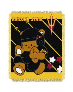 The Northwest Company Arizona State  College Baby 36x46 Triple Woven Jacquard Throw - Fullback Series