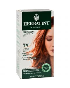 Herbatint Permanent Herbal Haircolour Gel 7R Copper Blonde - 135 ml
