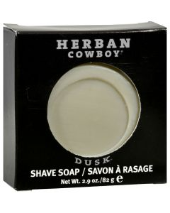 Herban Cowboy Natural Grooming Shaving Soap Dusk - 2.9 oz