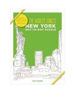 Search Press NEW! Thunder Bay Press Books-The World's Longest Dot-To-Dot: New York