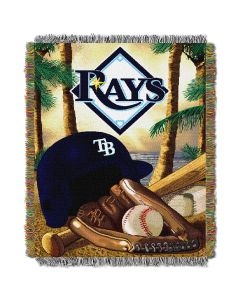 "The Northwest Company Rays  ""Home Field Advantage"" 48x60 Tapestry Throw"