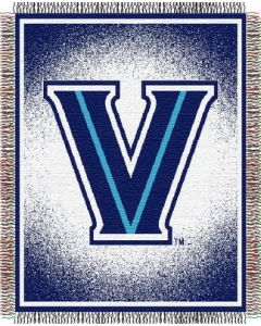 "The Northwest Company Villanova ""Focus"" 48""x60"" Triple Woven Jacquard Throw (College) - Villanova ""Focus"" 48""x60"" Triple Woven Jacquard Throw (College)"