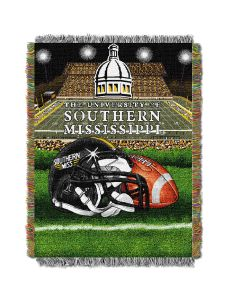 "The Northwest Company Southern Mississippi College ""Home Field Advantage"" 48x60 Tapestry Throw"