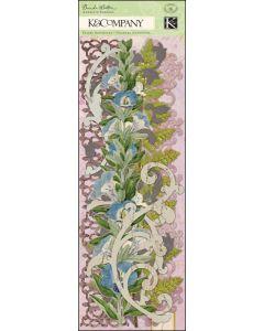"""K&Company Flora & Fauna Swirl Adhesive Borders 12""""-"""