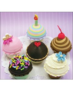 Quilled Creations Quilling Kit-Cupcake Treasure Boxes