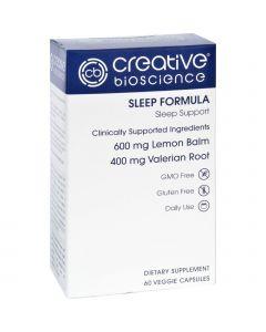 Creative Bioscience Sleep Formula - 60 Vegetarian Capsules