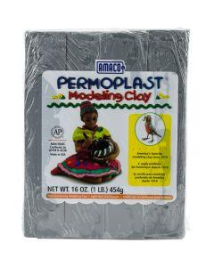 AMACO NEW! Permoplast Clay 1lb-Gray