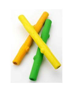 "Ruff Dawg Twig Dog Toy Assorted Colors 6"" x 3"" x 3"""