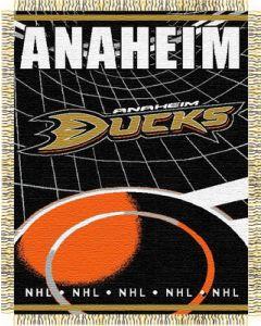 "The Northwest Company Ducks 48""x 60"" Triple Woven Jacquard Throw (NHL) - Ducks 48""x 60"" Triple Woven Jacquard Throw (NHL)"