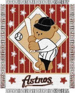 "The Northwest Company Astros baby 36""x 46"" Triple Woven Jacquard Throw (MLB) - Astros baby 36""x 46"" Triple Woven Jacquard Throw (MLB)"