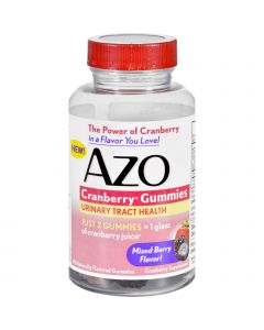 Azo Cranberry Gummies - 40 Count