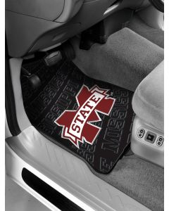 The Northwest Company Mississippi State College Car Floor Mats (Set of 2) - Mississippi State College Car Floor Mats (Set of 2)