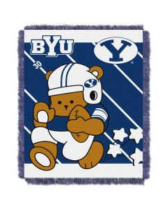 The Northwest Company BYU  College Baby 36x46 Triple Woven Jacquard Throw - Fullback Series