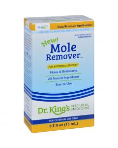 King Bio Homeopathic Mole Remover - .5 oz