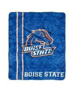 """The Northwest Company Boise State College """"Jersey"""" 50x60 Sherpa Throw"""
