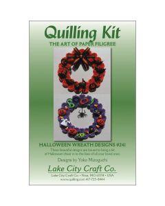 Lake City Craft Quilling Kit-Halloween Wreaths