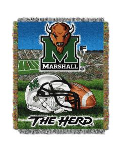 """The Northwest Company Marshall College """"Home Field Advantage"""" 48x60 Tapestry Throw"""