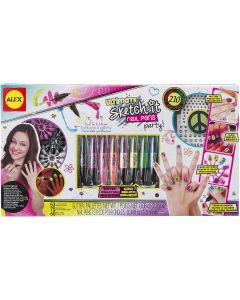 Alex Toys Ultimate Sketch It Nail Pens Party Kit-