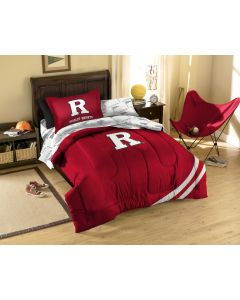 The Northwest Company Rutgers Twin Bed in a Bag Set (College) - Rutgers Twin Bed in a Bag Set (College)