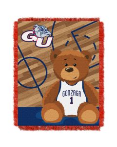 The Northwest Company Gonzaga College Baby 36x46 Triple Woven Jacquard Throw - Fullback Series