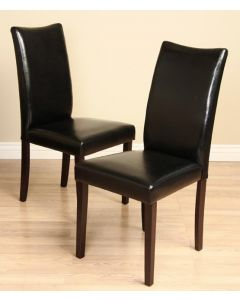 Warehouse of Tiffany Shino Black Dining Chairs (Set of 2)