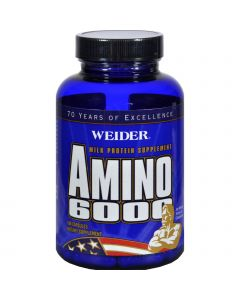 Weider Global Nutrition Weider Amino 6000 - 100 Capsules