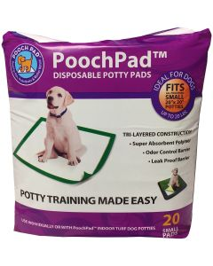 PoochPad Disposable Potty Pad-Medium 20/Pkg-