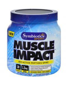 Symbiotics Sport Symbiotics Muscle Impact - Bio-Active Peptides Spike - 10.6 oz