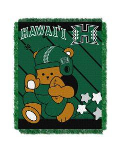 The Northwest Company Hawaii College Baby 36x46 Triple Woven Jacquard Throw - Fullback Series