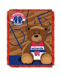 The Northwest Company Wizards  Baby 36x46 Triple Woven Jacquard Throw - Half Court Series