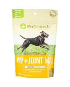 Pet Naturals of Vermont Hip + Joint Max Chews For Dogs 60/Pkg- - Hip + Joint Max Chews For Dogs 60/Pkg-