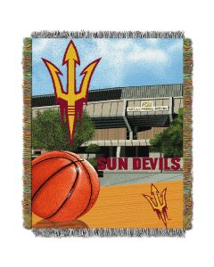 "The Northwest Company Arizona State College ""Home Field Advantage"" 48x60 Tapestry Throw"