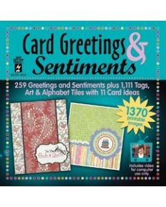 Hot Off The Press Card Greetings & Sentiments CD-