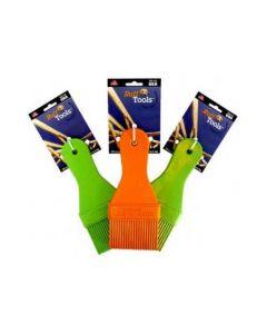 "Ruff Dawg Ruff Tools Paint Brush Assorted Colors 4.5"" x 1.5"" x 1"""