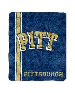 "The Northwest Company Pittsburgh College ""Jersey"" 50x60 Sherpa Throw"