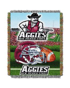 """The Northwest Company New Mexico State College """"Home Field Advantage"""" 48x60 Tapestry Throw"""