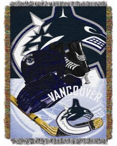 """The Northwest Company Canucks  """"Home Ice Advantage"""" 48x60 Tapestry Throw"""