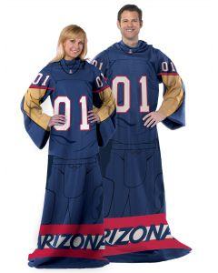 "The Northwest Company Arizona  College ""Uniform"" Adult Fleece Comfy Throw"
