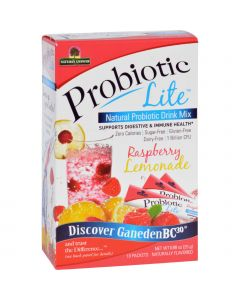 Nature's Answer Natures Answer Probiotic Drink Mix - Natural - Probiotic Lite - Raspberry Lemonade - .88 oz - 10 Count