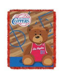 The Northwest Company Clippers  Baby 36x46 Triple Woven Jacquard Throw - Half Court Series