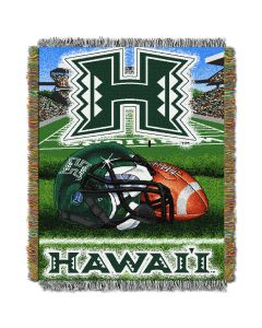 """The Northwest Company Hawaii College """"Home Field Advantage"""" 48x60 Tapestry Throw"""