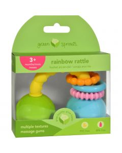 Green Sprouts Rattle - Rainbow - Unisex - 3 Months - 1 Count