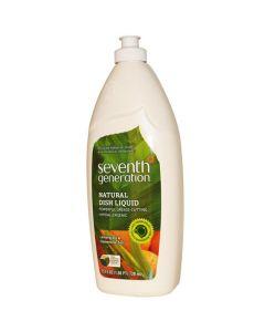 Seventh Generation Dish Liquid - Lemongrass and Clementine Zest - 25 oz