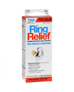 TRP Company TRP Ear Drops - Ring Relief - .33 oz