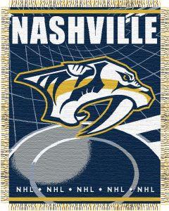 "The Northwest Company Predators 48""x 60"" Triple Woven Jacquard Throw (NHL) - Predators 48""x 60"" Triple Woven Jacquard Throw (NHL)"