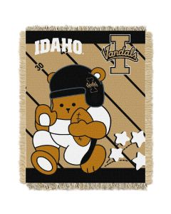 The Northwest Company Idaho College Baby 36x46 Triple Woven Jacquard Throw - Fullback Series