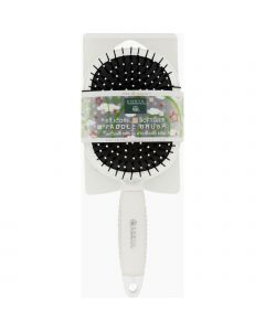 Earth Therapeutics Hair Brush - Paddle - Silicon - White - 1 Count