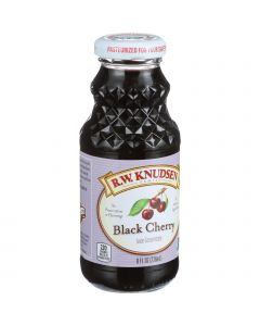 R.W. Knudsen Black Cherry Juice Concentrate - 8 oz (Pack of 3) - R.W. Knudsen Black Cherry Juice Concentrate - 8 oz (Pack of 3)